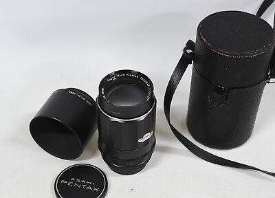 Asahi Coated Mount Pentax M42 Lens 5 Super Multi Case TAKUMAR 3 135mm with fwzYS5q