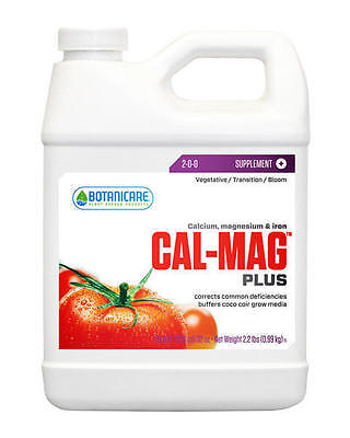 Botanicare Cal Mag Plus 32 oz Quart - magnesium supplement nutrient additive