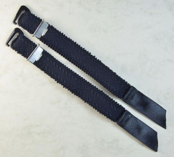 Straps, Strapsbänder 1,5cm breit mit Strumpfhalterclip zum Anhaken.