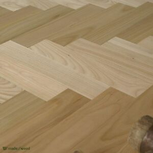 Sweet-Cherry-Wood-12-034-Parquet-Classique-Prime-Grade-Herringbone-Floor-HD10