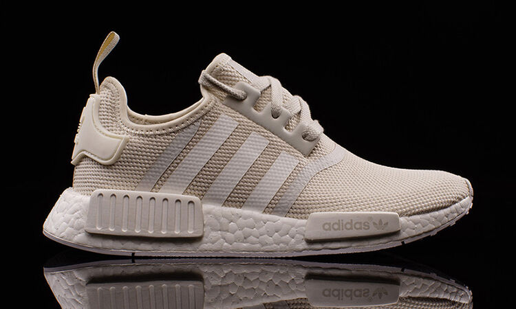 Adidas NMD R1 Talc Off White S76007 Comfortable Wild casual shoes