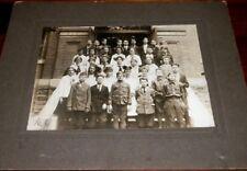Antique CDV Photograph 7th & 8th Grade Class School Children