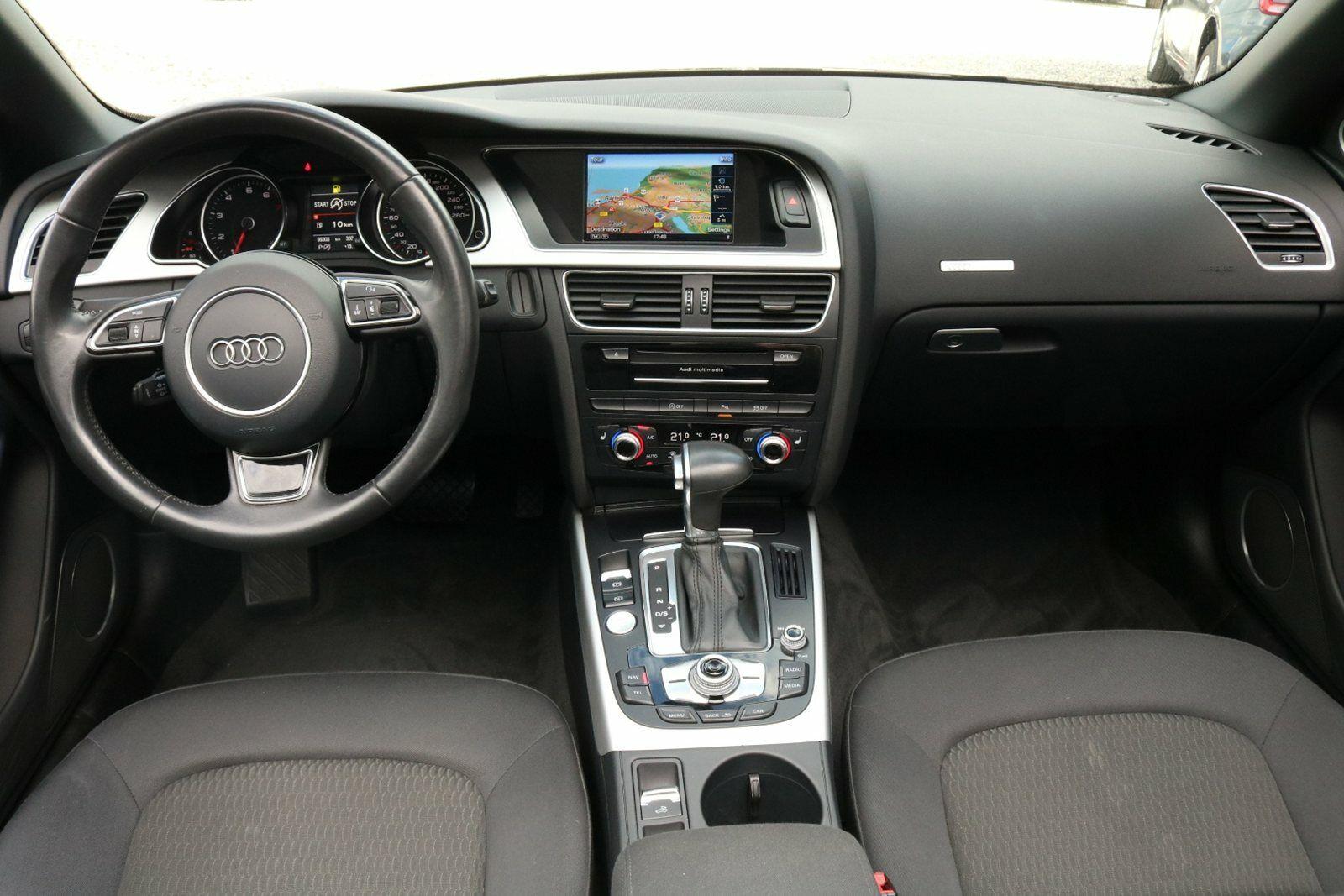 Audi A5 TFSi 177 S-line Cabriolet Mult