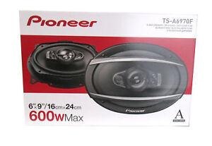 Pioneer-A-Series-6-x-9-034-5-Way-Coaxial-Car-Speakers-Pair-w-600W-Peak-Power