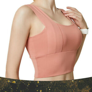 Women Sports Underwear Yoga Vest Shockproof Gather Stereotype Sports Fitness Bra