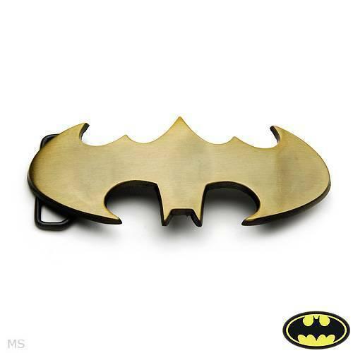 Batman Gentlemens Delightful  Belt Buckle  Made of Yellow Stainless steel