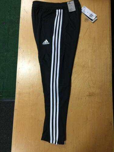 adidas Boys Tiro 19 Climacool Slim Fit Athletic Pants Black White Size S for sale online | eBay