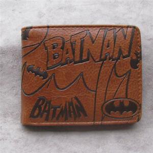 Batman-Leather-pu-Bifold-Wallet-Credit-Card-Holder-Coin-Purse-Handbags-Pocket