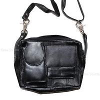 Genuine Leather Motorcycle Biker Wallet Purse Pouch Bag W/ Belt Loop - Oa7