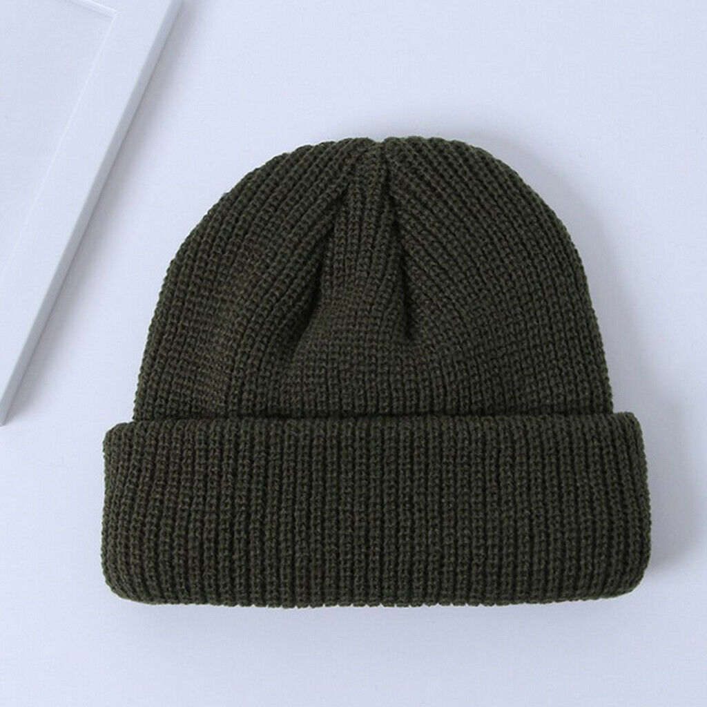 Retro Style Wollmütze Hut Skullcap Stretch Outdoor Sport Kopfbedeckung für