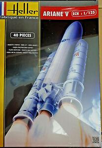 Missile-Ariane-V-Heller-Kit-1-125-46x10-6cm-80441-Nuovo