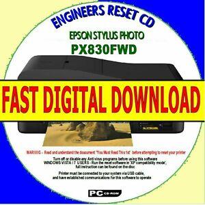Epson-Stylus-px830fwd-Waste-Ink-Pad-Zaehler-Fehler-Brennerstoerung-Digital-Download