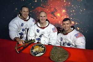 New-5x7-NASA-Photo-Original-Apollo-13-Astronaut-Crew-in-1970