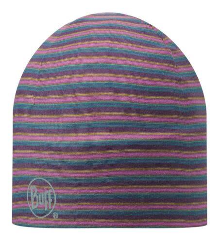 Buff Microfiber 2 Layers Hat stripes plum