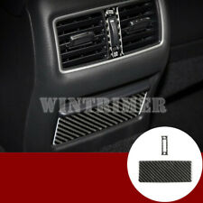 Carbon Fiber Inner Center Air Vent Outlet Cover Trim For Cadillac XTS 2013-2018