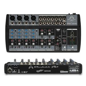 WHARFEDALE-PRO-CONNECT-1202-FX-USB-mixer-audio-a-12-canali-x-live-studio-karaoke