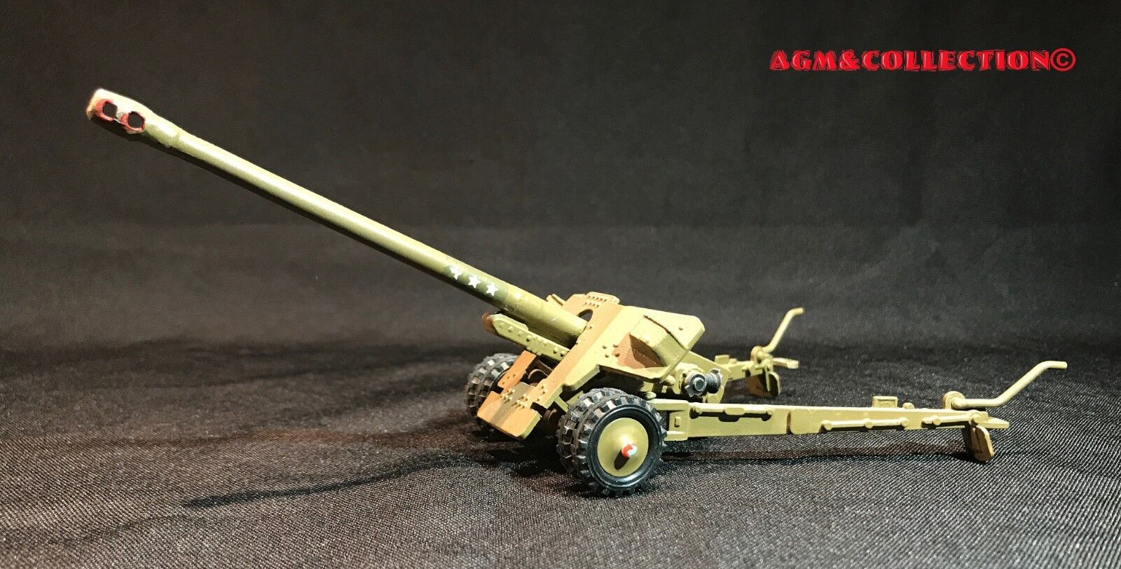 Soviet Army BS-3 100mm anti-tank cannon   Scale 1 43 metal model