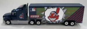 Cleveland-Indians-1999-MLB-Baseball-Die-Cast-Semi-Truck-by-Whiterose-Collectible