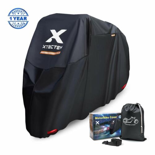 XYZCTEM Motorbike Cover, Fit up to 97 Inches Long Motorcycle, Waterproof All