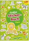 Großes Sticker-Buch Tiere von Elisabeth Kiefmann (2017, Taschenbuch)