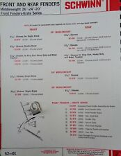 SCHWINN BICYCLE KRATE STINGRAY FRONT FENDER HANGER KIT 1969-73