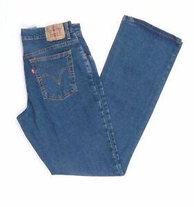 Levi-039-s-Levis-Jeans-550-W30-L34-blau-stonewashed-30-34-Straight-JA5995