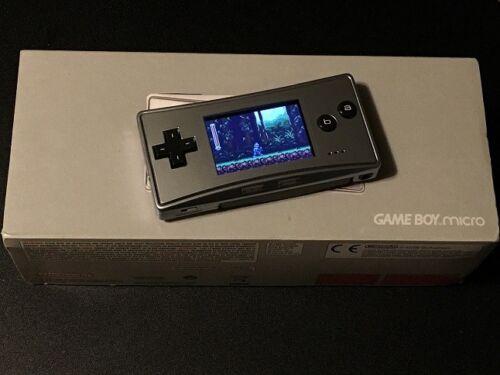 Nintendo Game Boy Micro Silver Oxyseba