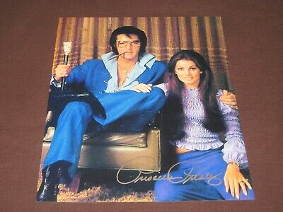Priscilla Presley Autograph 8x10 Photo Elvis The Naked Gun