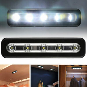 MINI Wireless 5Led Nightlight Stick-on Under Kitchen ...