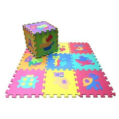 New Puzzle Mat Cartoon Colorful Baby Play Rugs Crawling Activity Carpets 1 Set