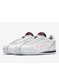 new arrival 86deb 7aebe Details about Nike Cortez Kenny 1 Damn Kendrick Lamar White AV8255-106 Size  13