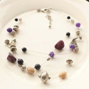 20-034-New-Chicos-Multi-strands-Collar-Necklace-Gift-FS-Fashion-Women-Party-Jewelry