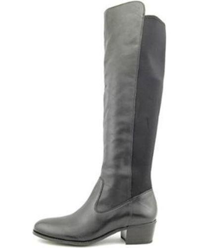 Conceptos internacionales incluido para Mujer botas Sobre La Rodilla Bota De Cuero Bunni 7.5M