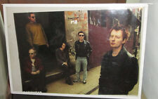 RADIOHEAD POSTER LIVE RARE NEW NEVER OPENED LATE 2000'S VINTAGE