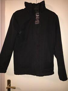 Details zu Herrenjacke Gr. S Schwarz Bench Jacke Übergangsjacke Winterjacke Allwetterjacke