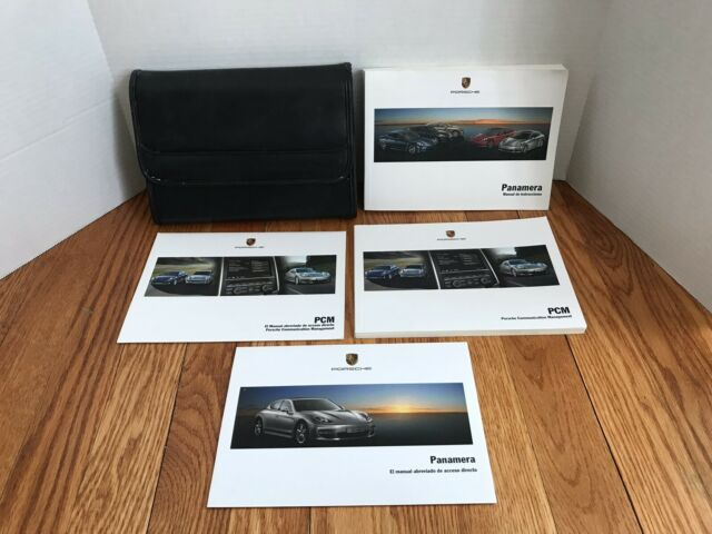 2010 Porsche Panamera Owners Manual In Spanish