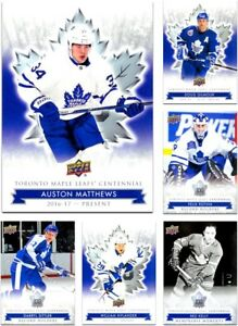 2017-18-Toronto-Maple-Leafs-Centennial-PICK-YOUR-CARD-From-LIST-1-200