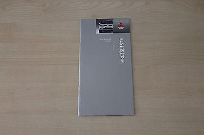 Mitsubishi Colt Lancer Evolution Ix Herzhaft 172129 Preise & Extras Prospekt 02/2007