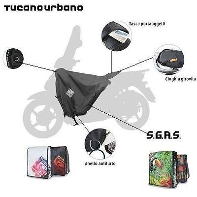 Affidabile Coprigambe Impermeabile Tucano Urbano R017 Per Peugeot Ludix
