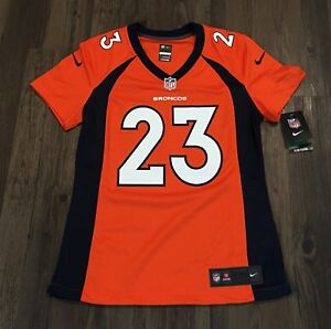 Details about Ronnie Hillman Denver Broncos Nike Game Jersey Women's Small New With Tags