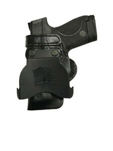 """Leather Kydex Paddle Gun Holster LH RH For S/&W L-Frame 3/"""""""