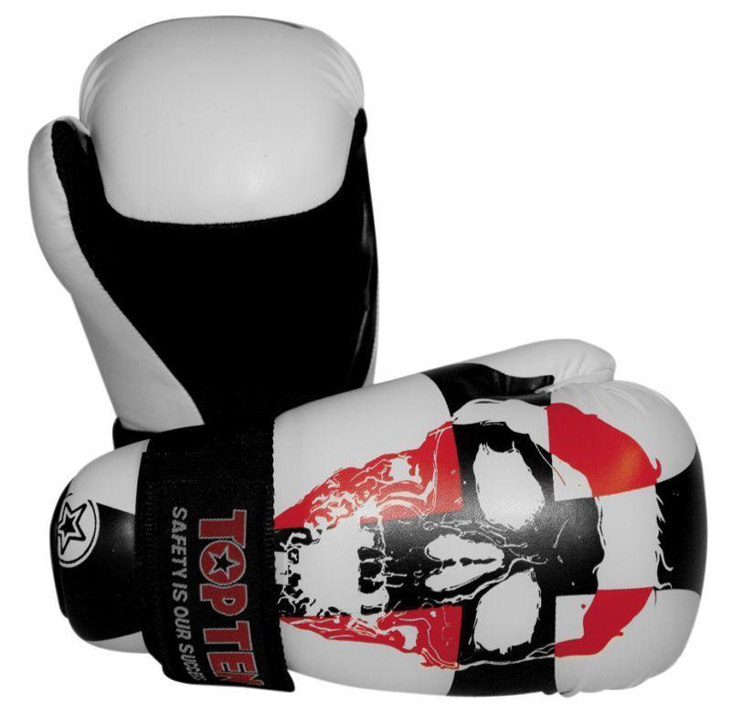 TOP TEN Semikontakt Handschuhe OPEN OPEN OPEN HANDS  Point Fighter  Designer Gloves WAKO 06af3f