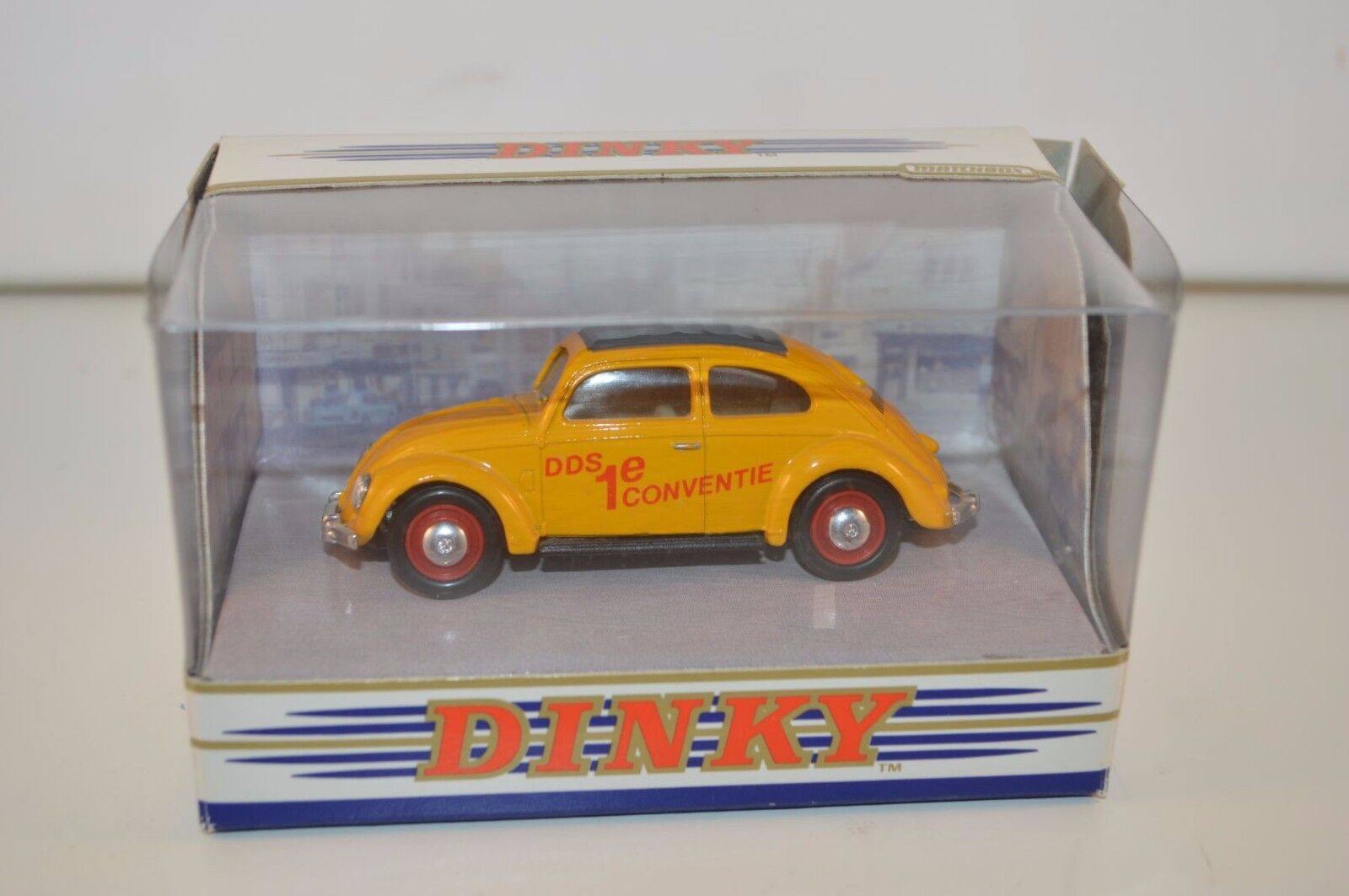Dinky Matchbox DY6-C Volkswagen KAFER Beetle DDS Code 3 jaune Mint boxed