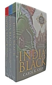 India-Black-Mada-of-Espionage-Mystery-3-Books-Carol-Carr-Historical-Fiction-New