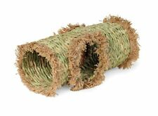 Grass Tunnel For Small Pet Toy Hideaway Animal House Guinea Pig Rabbit Natural