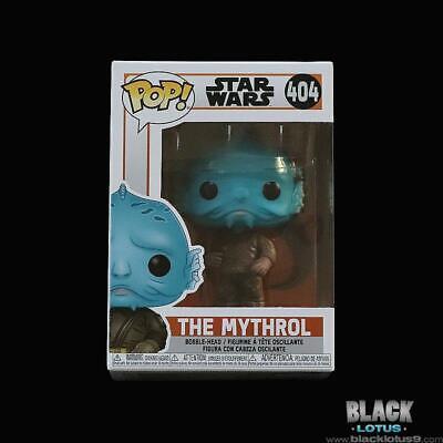 Boxed with ExcTEK Protector Mythrol #404 The Mandalorian Pop