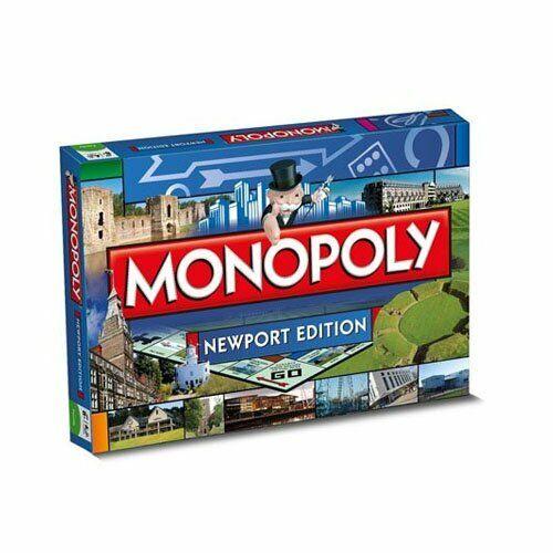 Monopoly - Newport Monopoly Board Game - 022842