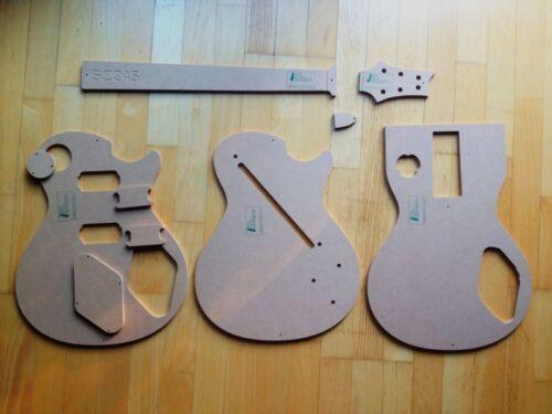 Luthier PRS SC245 Templates for Guitar Building f.e Fender Guitar Repair f