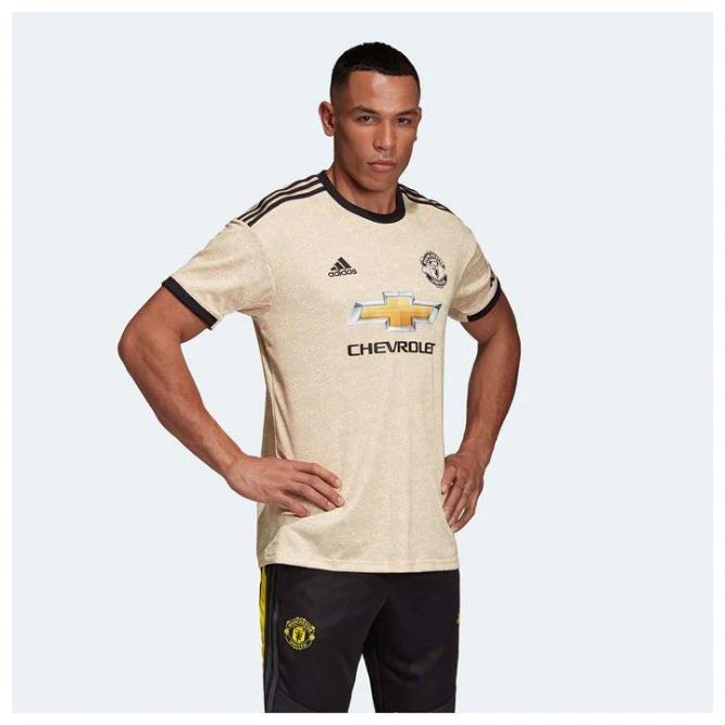 ADIDAS uomochester United Away Camicia 2019 2020 da uomo taglia L ref C 2051