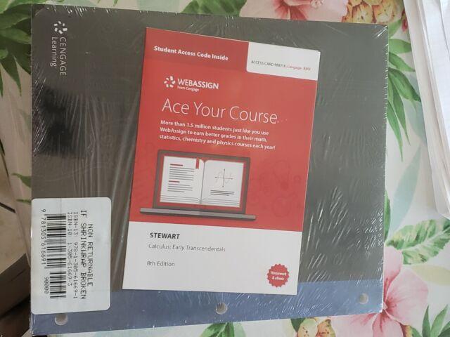 Calculus By James Stewart 2017 Ringbound Digital Other For Sale Online Ebay